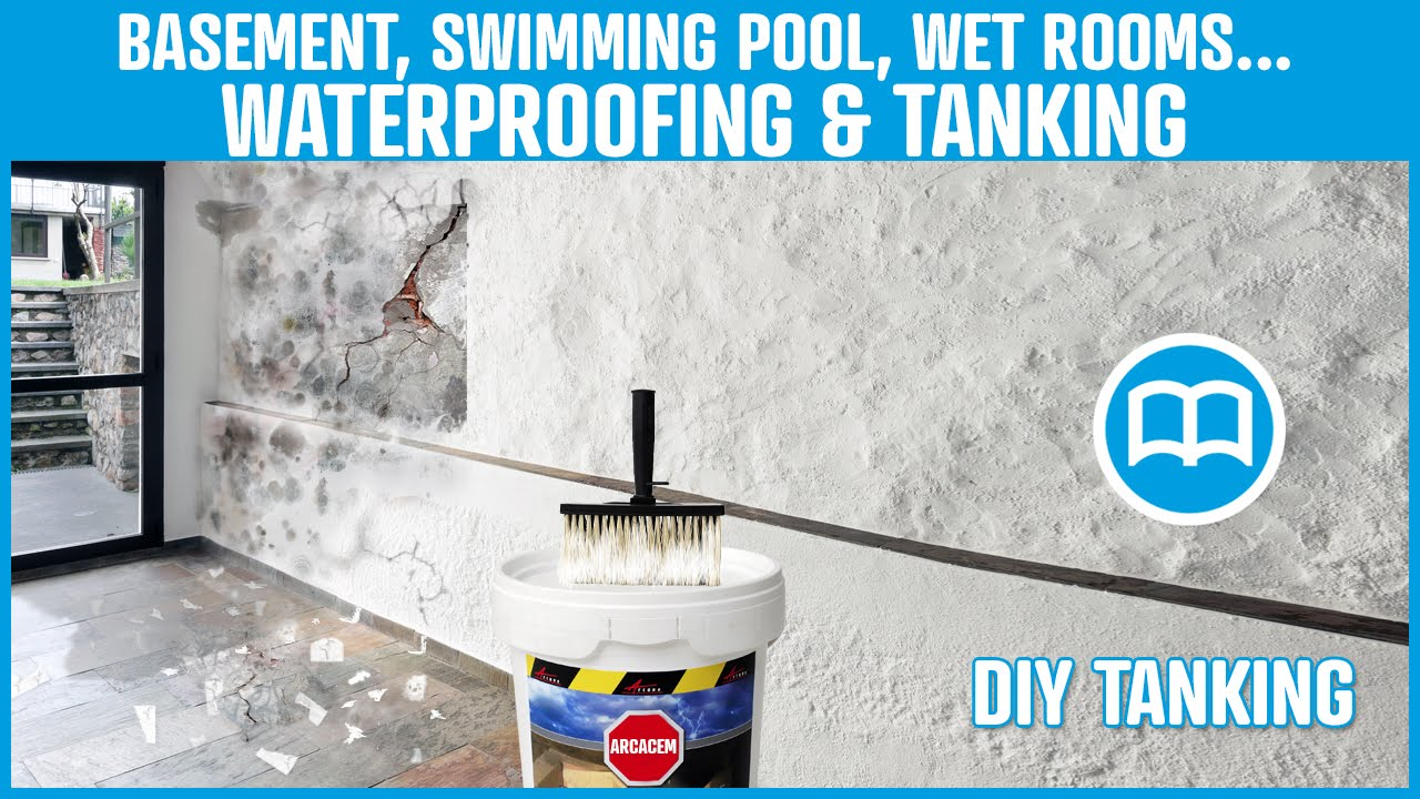Cementitious Waterproofing Product For Basements Swimming