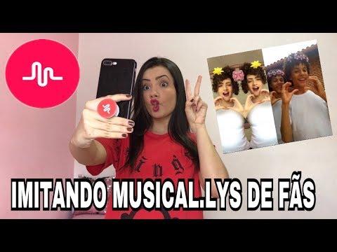 IMITANDO MUSICAL.LYS DE FÃS!! #MahMeImita