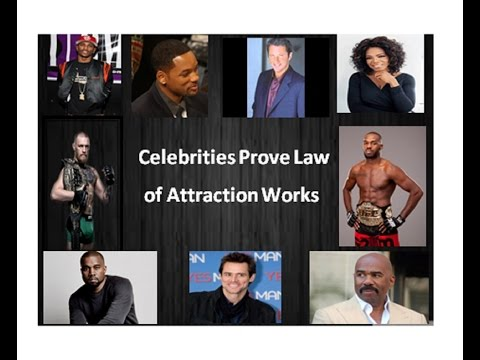9 Celebrities That Prove Using the Law of Attraction Works (new video)