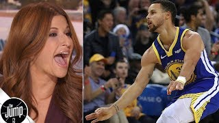 Steph Curry's questioning of moon landing doesn't make sense to Rachel Nichols | The Jump
