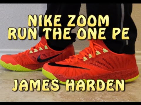 a2ac48fc49578 Nike Zoom Run the One PE - James Harden - Review with ON FEET - YouTube