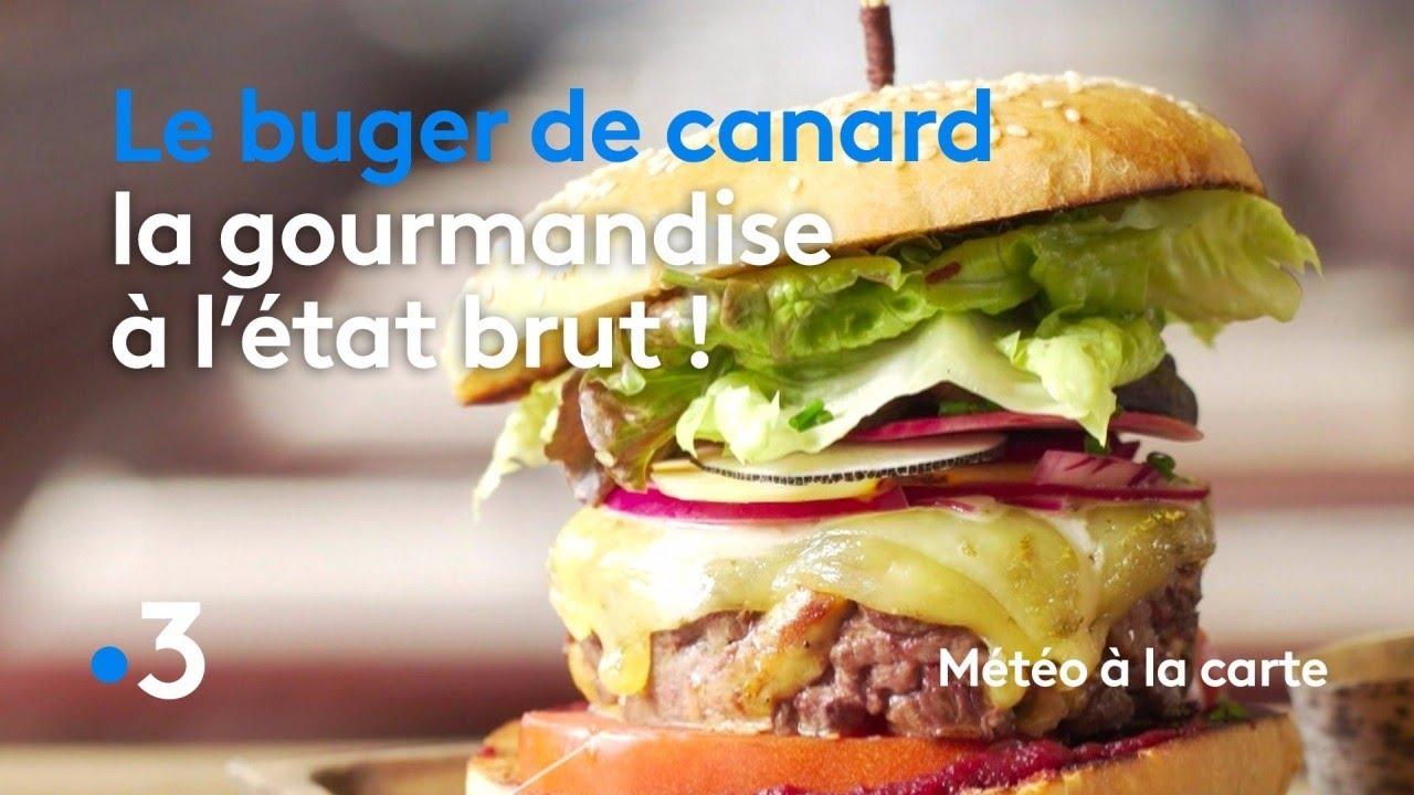 Recette : burger de canard
