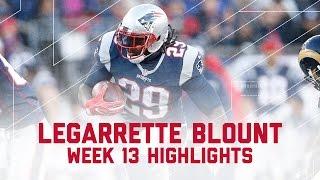 LeGarrette Blount's Big Day Against LA! | Rams vs. Patriots | NFL Week 13 Player Highlights