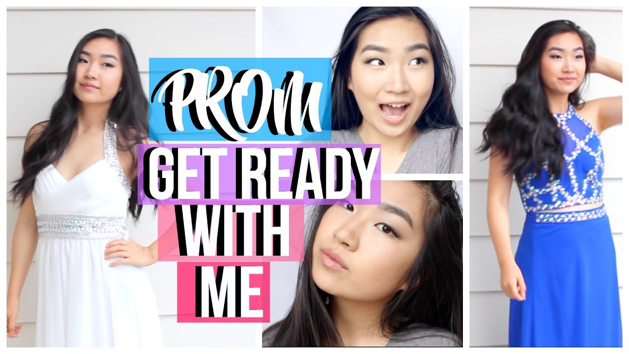 Get prom ready with me hair makeup dress - Get Prom Ready With Me Hair Makeup Dress 58