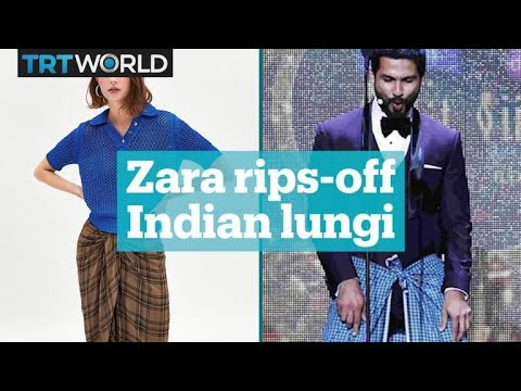 3be183f2fe Is Zara's wrap-around skirt for 'hipsters' actually an Indian lungi ...