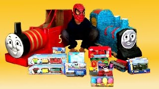 Thomas And Friends Die Cast, Wooden Toy Trains N Pinata Disney Cars Play Doh Egg