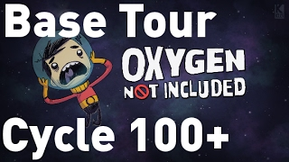 Oxygen Not Included Base Tour Cycle 100+