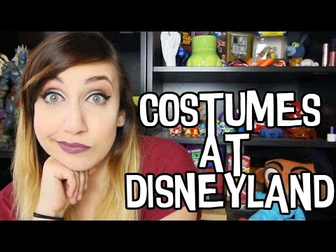 Don't Wear Costumes to Disneyland