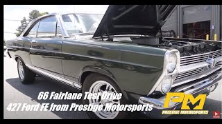 '66 Ford Fairlane 427 FE Test Drive with Prestige Motorsports Shop Manager, Mark Moses.