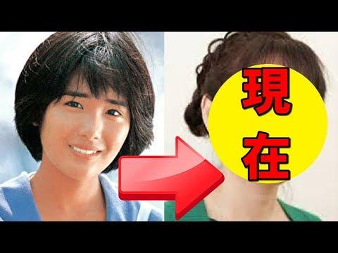 富田靖子、現在と若い頃が違いすぎる!