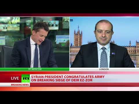 Deir ez-Zor siege: Govt forces & allies break three-year ISIS blockade of key Syrian city