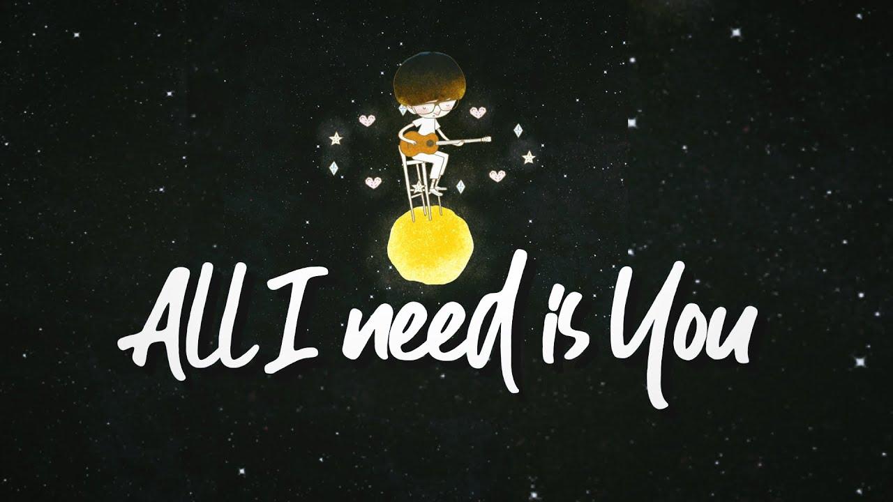 Brandon Jenner All I Need Is You Lyrics Lyric Video Youtube