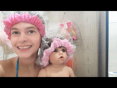 Rotina do Banho da Nina