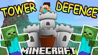 ЭТИ БАШНИ ВЫНОСЯТ ЗОМБИ ТОЛПАМИ!!  - Майнкрафт карта - Minecraft