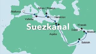 Schon ägyptische pharaonen, römische kaiser und arabische kalifen versuchten sich am bau eines kanals, der das mittelmeer mit dem roten meer verbinden sollte...