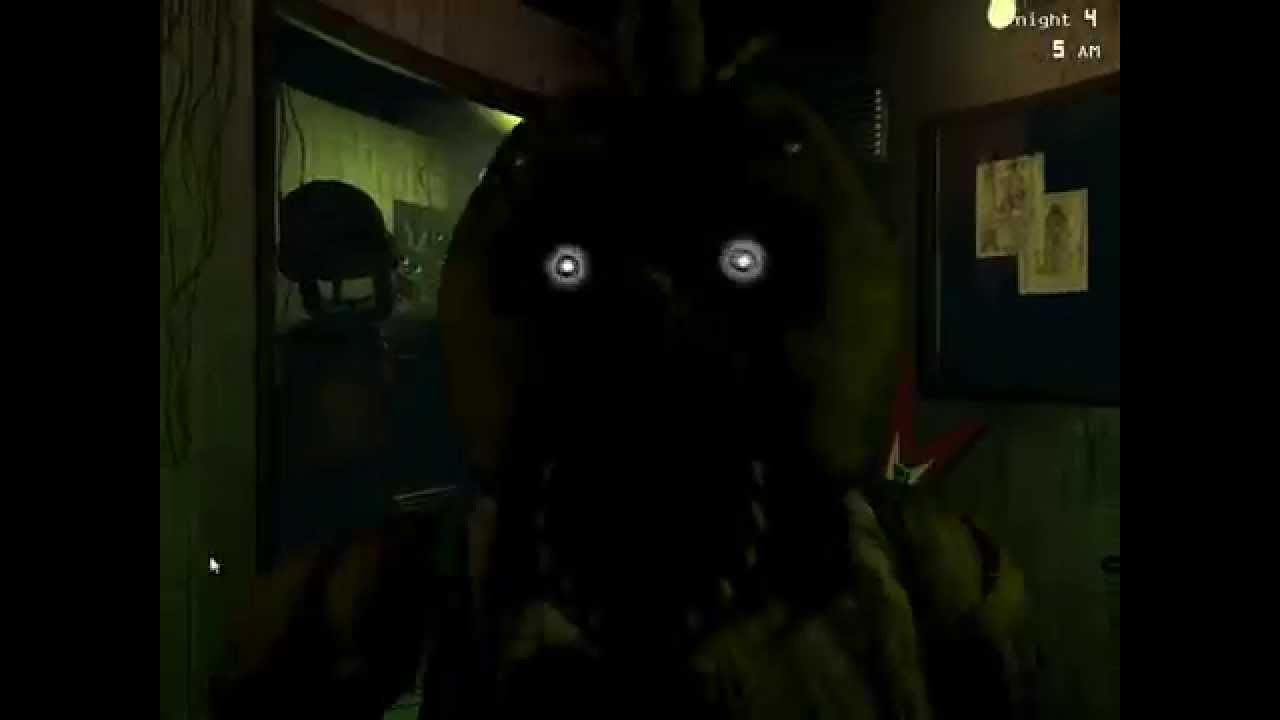 Five Nights at Freddys 3 Phantom Chicas Jump Scare