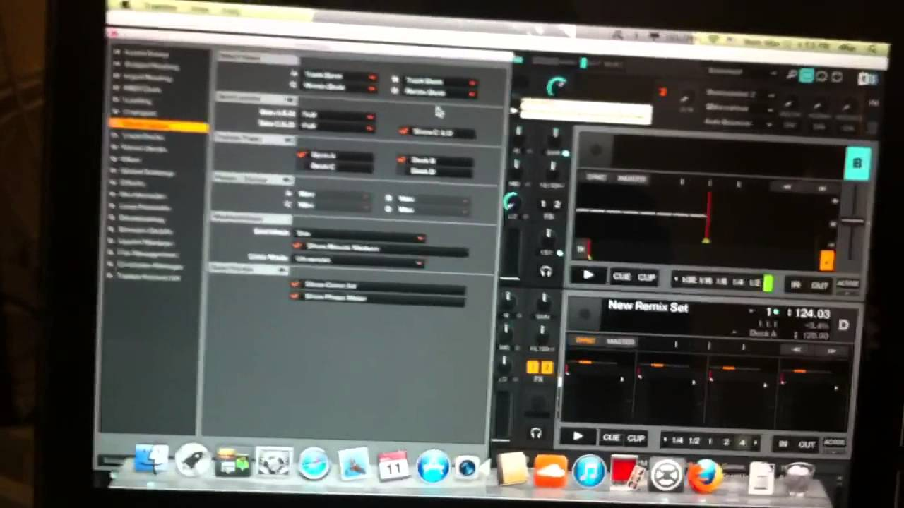 how to connect traktor s4 to mac