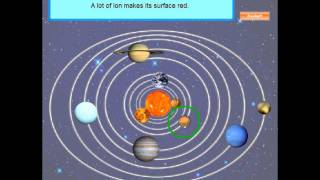 Interactive Geography Program for Kids (1) - The Solar System (The Sun and the Planets)