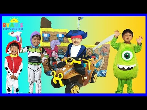 CUTE KIDS COSTUMES SHOW Disney Junior Mickey Mouse Nick Jr. Paw Patrol Power Wheels Cars McQueen