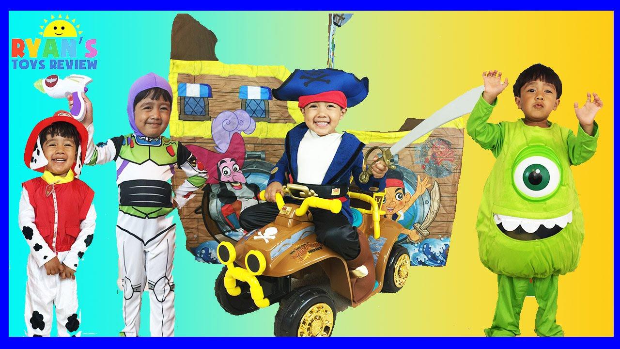 ryan's cute halloween kids costumes show in !  youtube