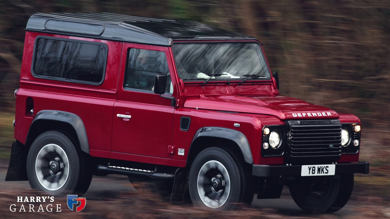 2018 land rover defender works v8 drive and review youtube for Garage land rover amiens
