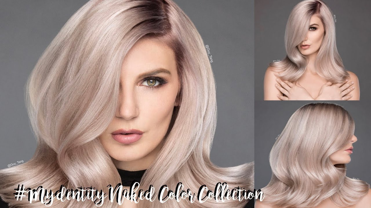 Mydentity Naked Color Collection Youtube
