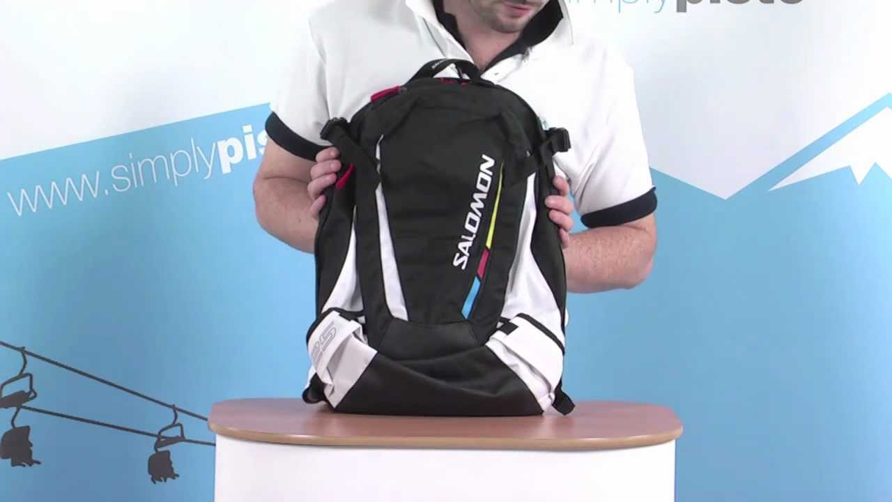 59cf8a6173 Salomon All Round 25 Backpack - Black - www.simplypiste.com - YouTube