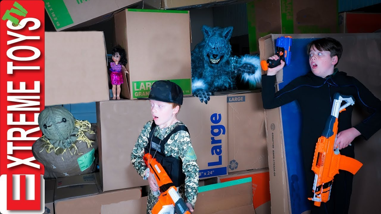 Download The Final Monster Battle! Sneak Attack Squad VS Halloween!