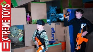 The Final Monster Battle! Sneak Attack Squad VS Halloween!