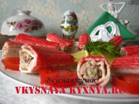 Рецепт Закусочные профитроли с салатом из креветок и