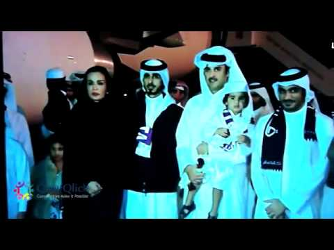 Arrival of Qatar 2022 Bid Committee to Doha  FIFA WORLD CUP 2022 DOHA QATAR.flv