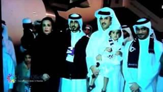 Arrival of Qatar 2022 Bid Committee to Doha FIFA WORLD CUP 2022 DOHA QATAR.flv