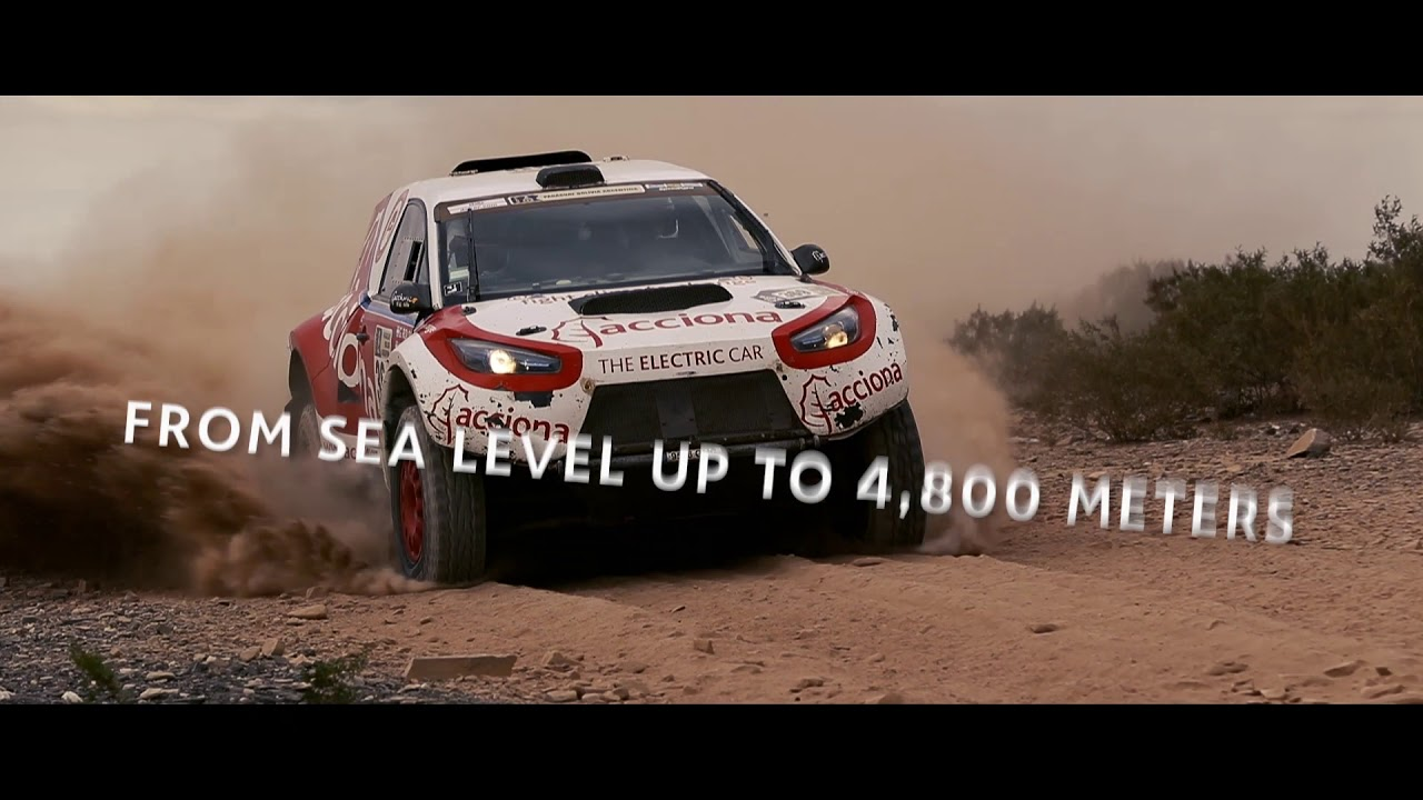 ACCIONA 100% EcoPowered car- Competition Challenge
