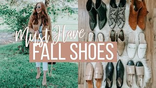 BEST FALL SHOES 2020! Boots, Flats, Booties + More! | Moriah Robinson