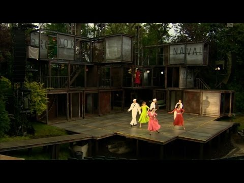 Open Air Theatre Regents Park - Singing in the Rain - Wendy Hurrell
