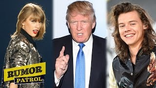 Taylor Swift Voting For Donald Trump? Harry Styles Sexy Snapchat? (Rumor Patrol)