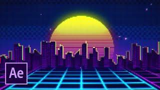 Пиксель арт в After Effects (Pixel Art, 8-bit)