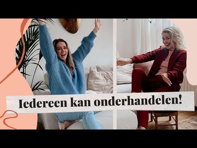 Onderhandelen en plannen met coach Merel van der Wouden | The Sanny Side Up