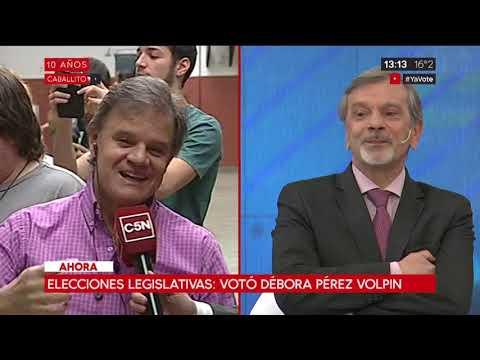 Elecciones 2017: Votó Débora Pérez Volpin