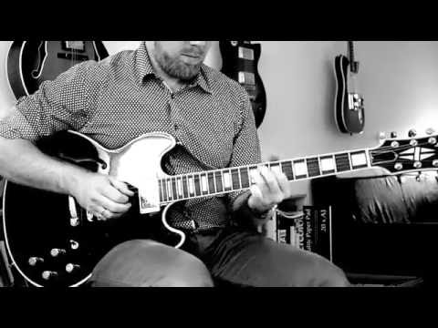 Alfons Åberg theme (Georg Riedel), solo jazz guitar