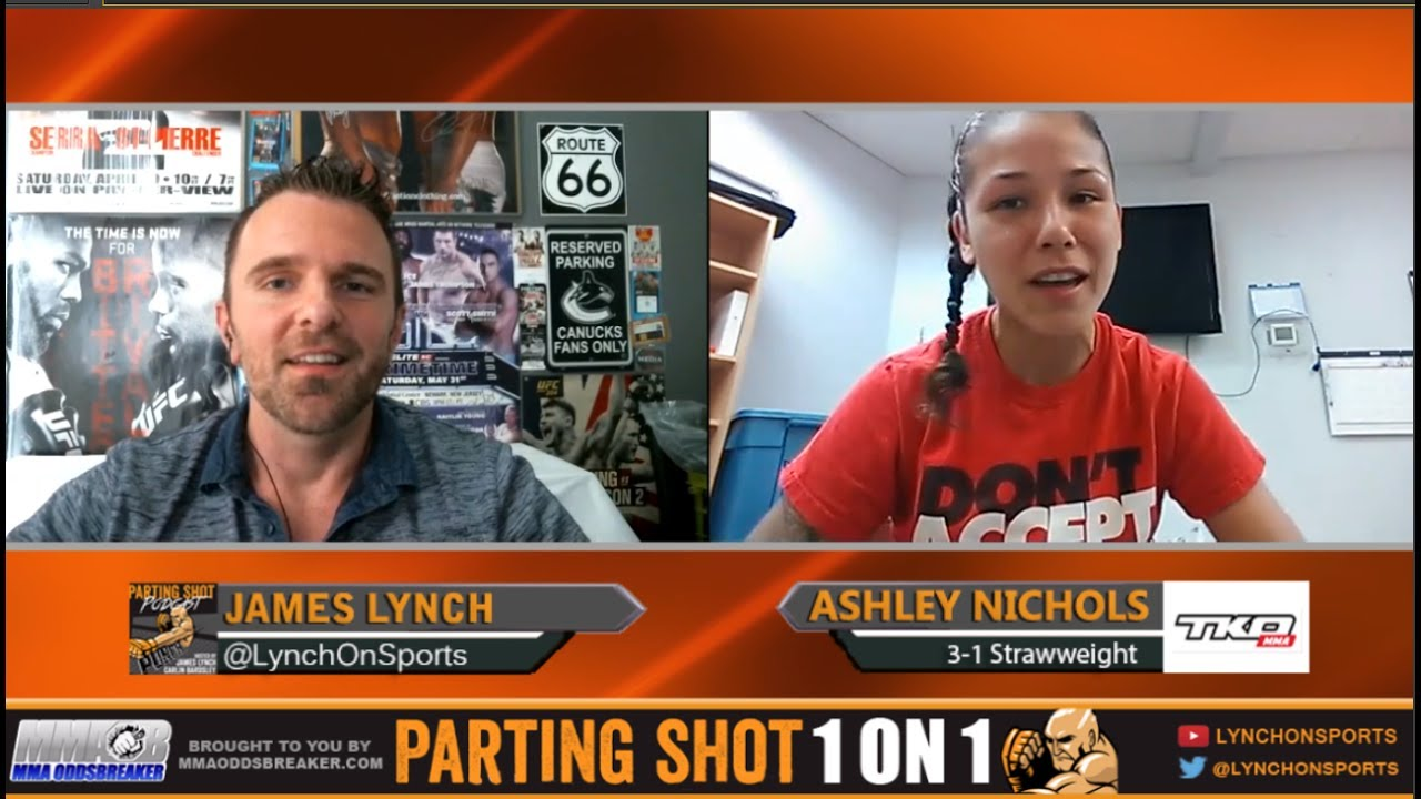 Ashley Nichols talks about winning the strawweight tournament at TKO 39