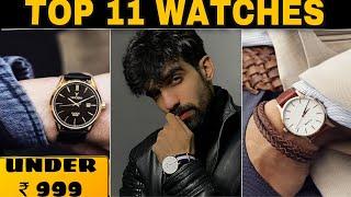 TOP 11 BUDGET WATCH BRANDS UNDER Rs 999   WATCH ESSENTIALS   MEN WATCHES IN INDIA   LOW BUDGET WATCH