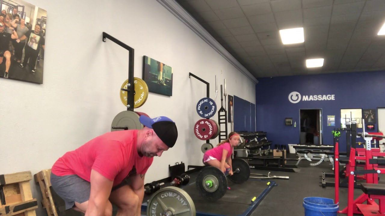 My Daughter: Dad, I can definitely deadlift more than he