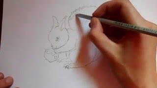 Видео: как нарисовать белку?(обучающее видео по рисованию белки простым карандашом поэтапно для начинающих., 2015-12-27T17:09:12.000Z)