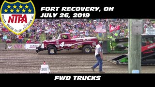 7/26/19 NTPA R2 Fort Recovery, OH FWD Trucks