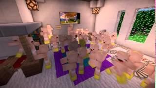 Minecraft приколы  Малыши в Майнкрафт ^ ^