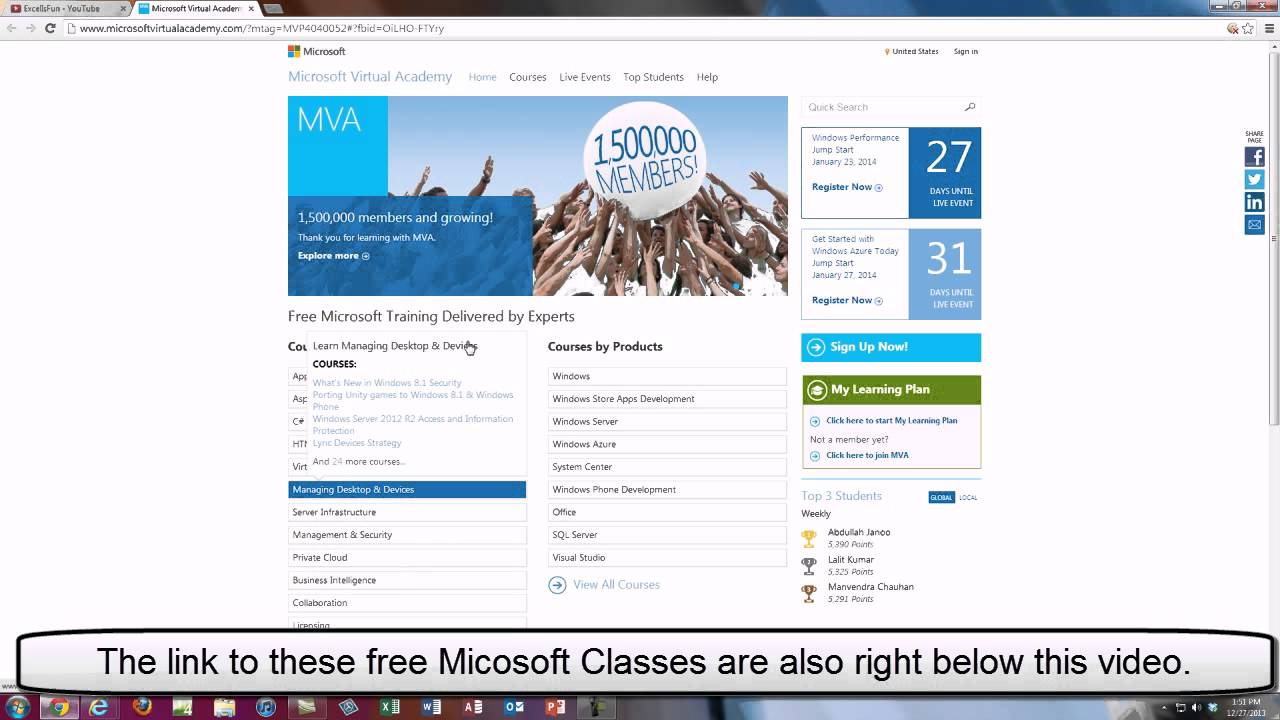 Microsoft virtual academy free classes from microsoft amazing microsoft virtual academy free classes from microsoft amazing free computer school 1betcityfo Gallery