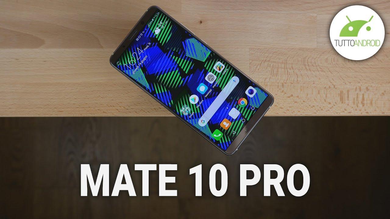La NPU e l'intelligenza artificiale di Huawei Mate 10 Pro