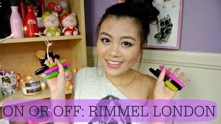 {ON or OFF}: Rimmel London Mascaras (best and worst)♡