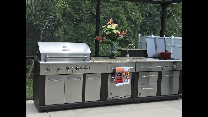 Costco Kitchen Aid 9 Burner Outdoor Island Gas Grill 2299 Youtube
